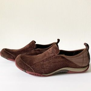 Merrell Crown Bisect Suede Slipon Shoes Size 8.5